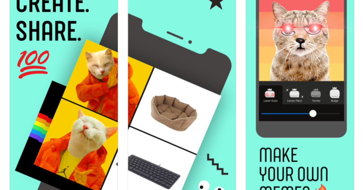 Facebook's new, experimental Whale app lets you create your own memes