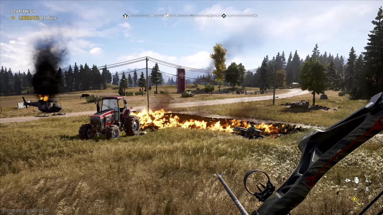 Far Cry 5 Review Politics A Suicide Mission And Cheeseburger The Bear Digital Trends