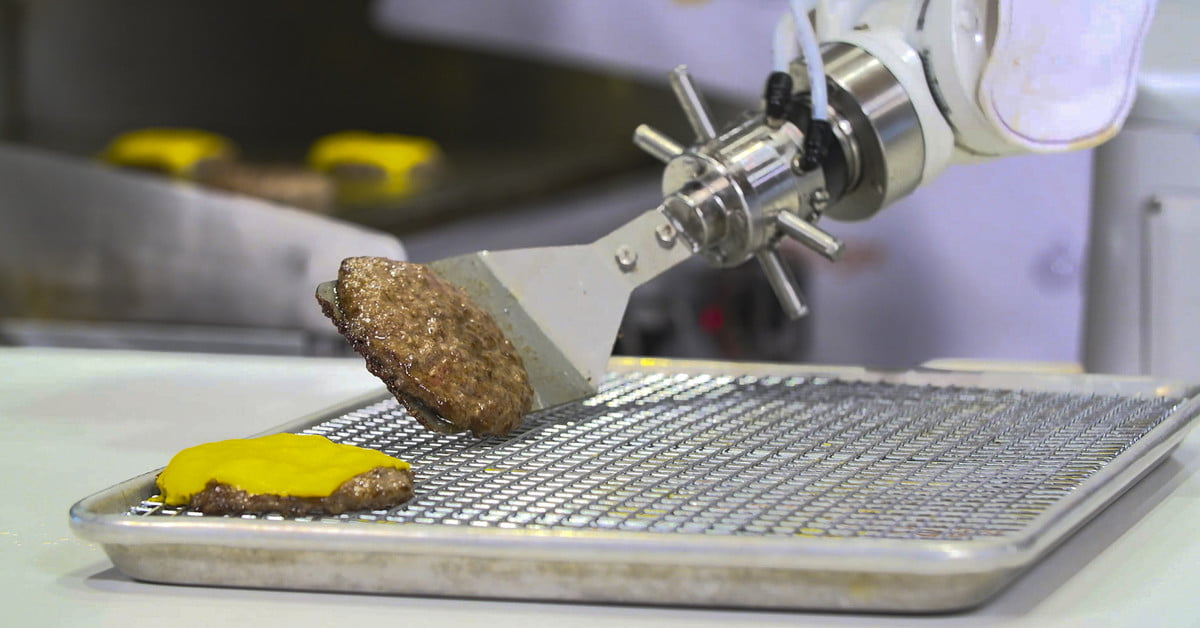 Flippy the burger-flipping robot is changing the face of fast food | Digital Trends