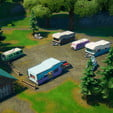 fortnite season 4 week 14 challenge guide how to harvest buses and rvs xp xtravaganza