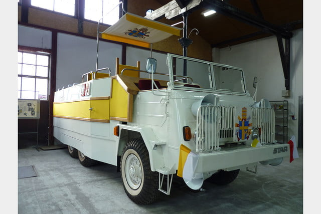 10 sweet popemobiles that will make you wish held the keys of heaven fsc star 660  1979 5