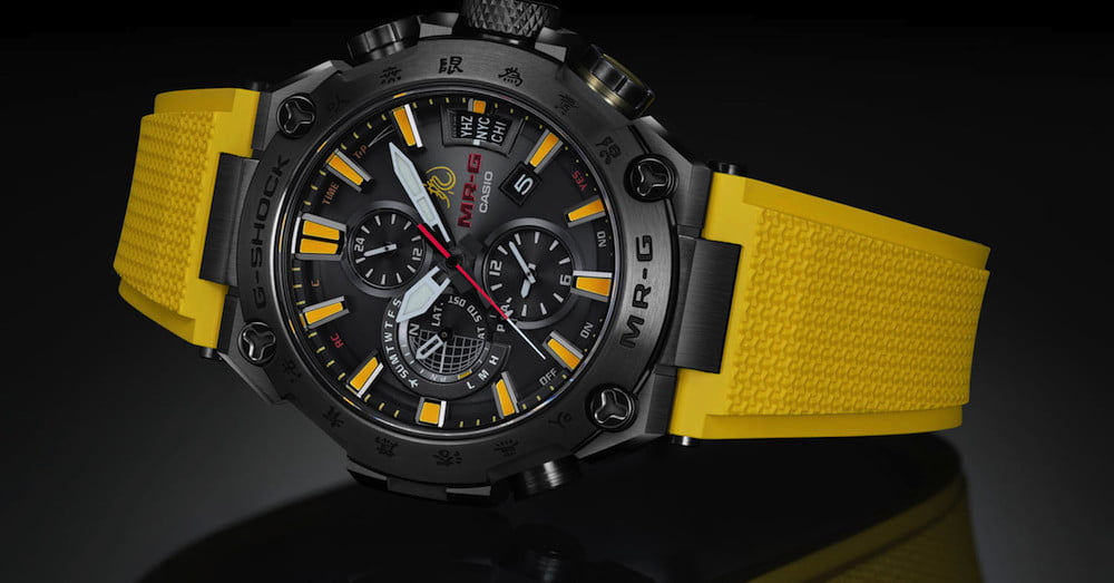 G-Shock Watch Pays Homage to Bruce Lee Using Iconic Colors | Digital Trends