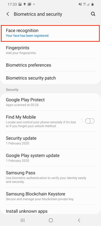 galaxy s20 ultra tips tricks settings face setting