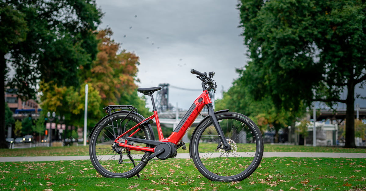 Exclusive: Gazelle's Ultimate T10 is an electric bike that makes you look twice