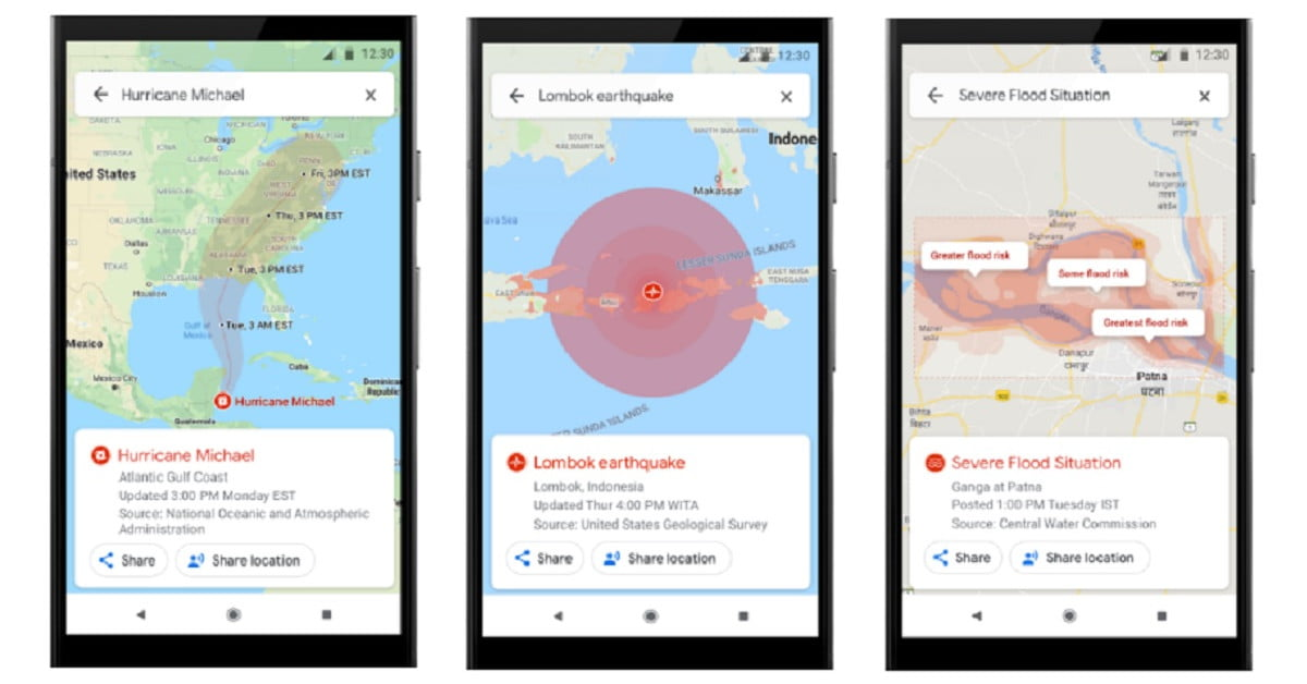 Google Maps Adds Warnings and Navigation for Disasters ... on ipad maps, android maps, topographic maps, goolge maps, gogole maps, microsoft maps, googlr maps, googie maps, gppgle maps, stanford university maps, aeronautical maps, road map usa states maps, aerial maps, bing maps, search maps, msn maps, amazon fire phone maps, waze maps, online maps, iphone maps,