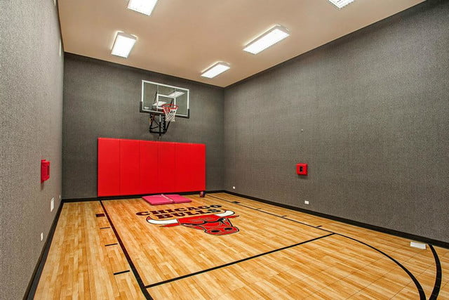 homes with indoor basketball courts heritage luxury court