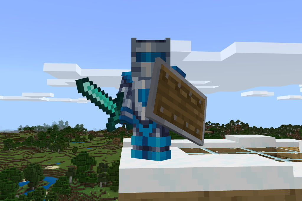 How To Make A Shield In Minecraft Digital Trends