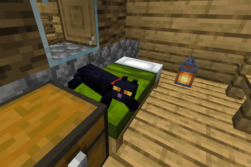 How To Tame A Cat In Minecraft Digital Trends