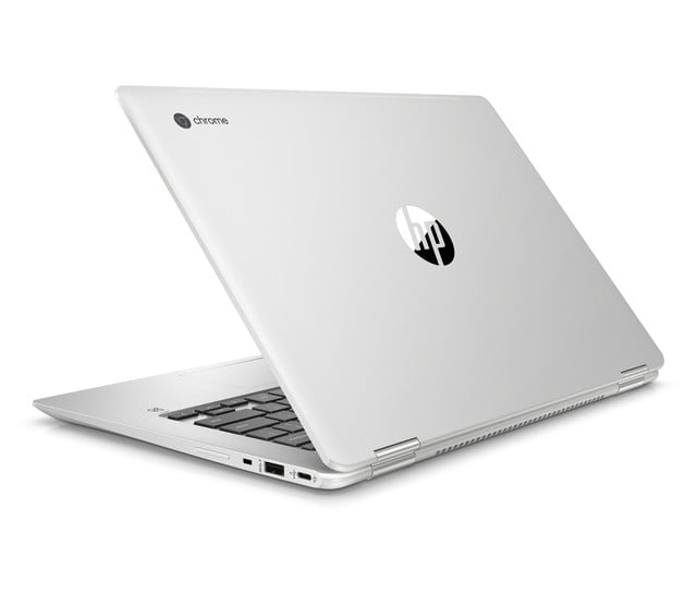 hp launches amd chromebook ces 2019 x360 14 g1 rear left