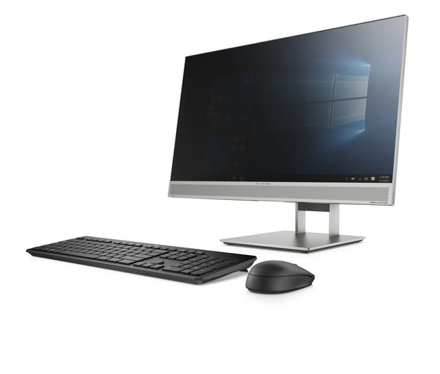 hp launches new monitors and all in one ces 2019 eliteone 800 g5 aio front left w sure view