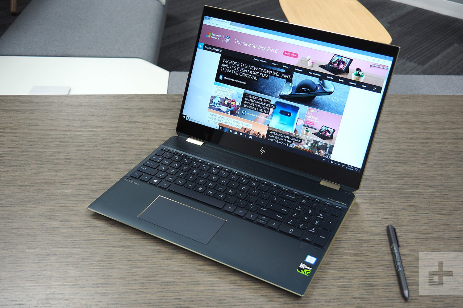 Hp Spectre X360 15 2019 Review Digital Trends