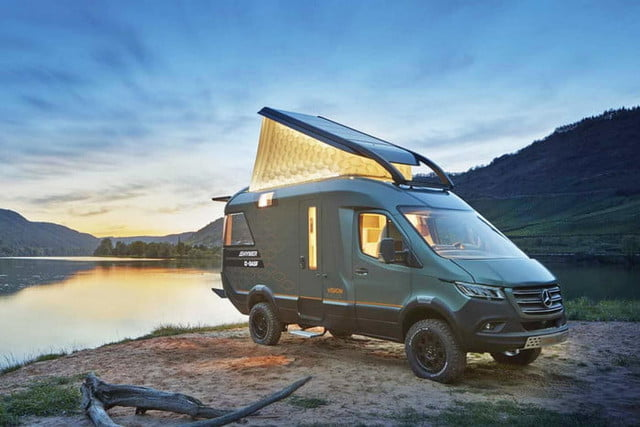 hymer visionventure concept previews the camper van of 2025 vision venture 4