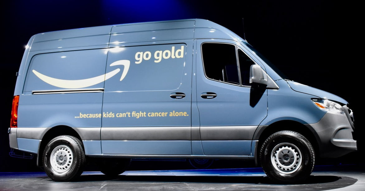 Amazon Orders at Least 2,237 More Delivery Vans for Own