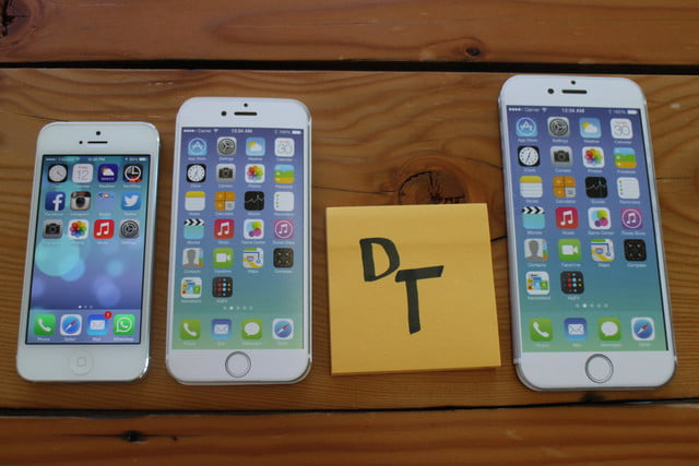 iphone 6 plus size comparison post it