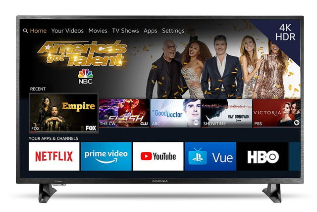 amazon fire tv sale on streaming media sticks dvrs and smart insignia ns 50df710na19 50 inch 4k ultra hd led hdr  edition 1