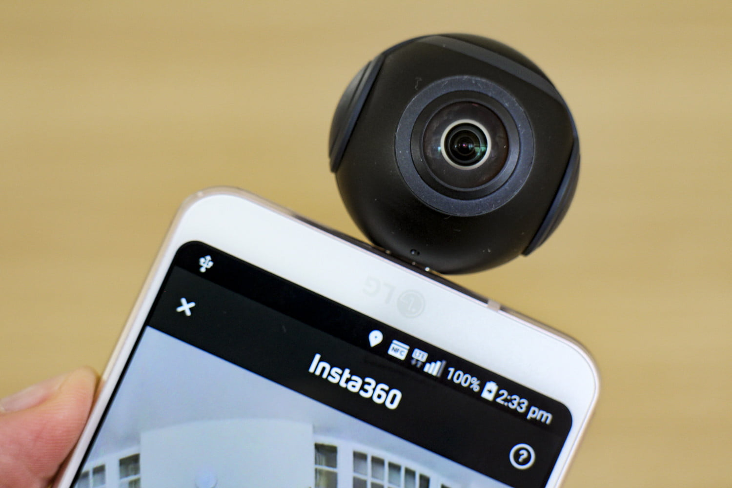Insta360 Air is the Easiest 360-Degree Camera For Android
