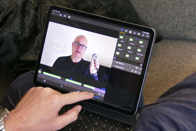 creating youtube videos on the ipad is easy lumafusion green screen