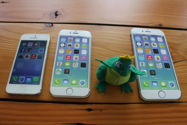 iphone 6 plus size comparison stuffed frog
