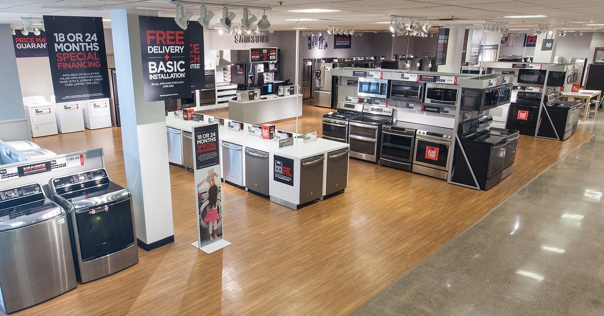 J.C. Penney Will No Longer Sell Appliances in Stores ...