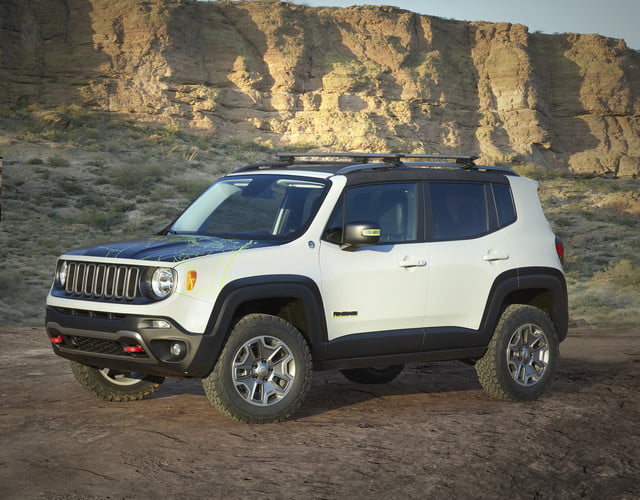 Jeep Renegade Commander Concept