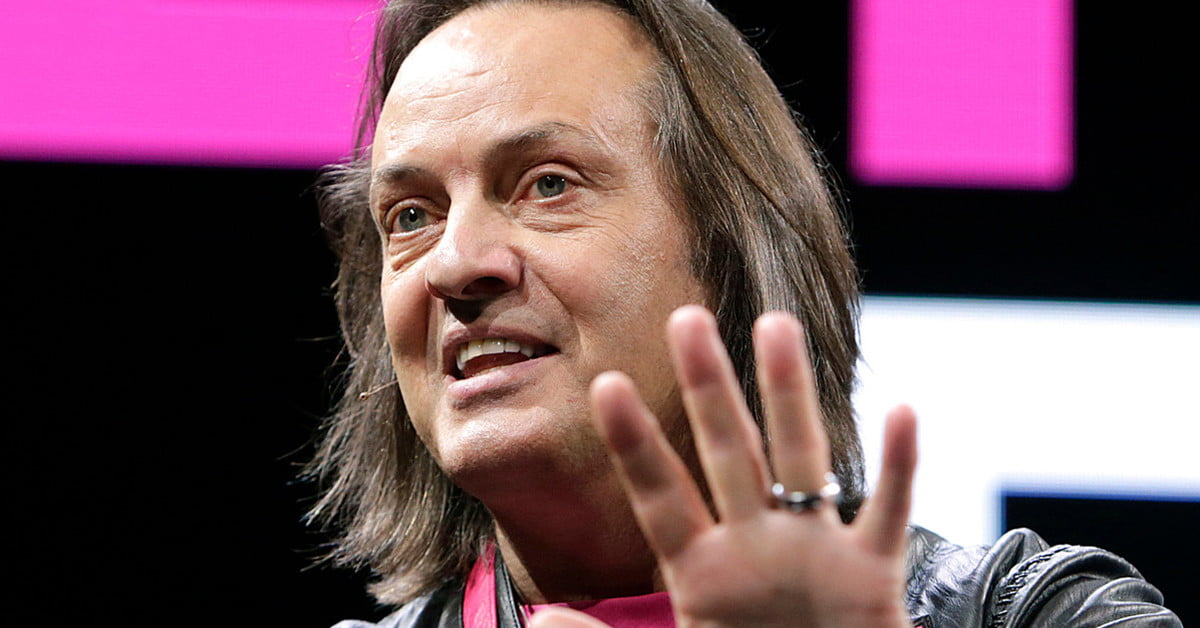 John Legere Out As CEO As Sprint-T-Mobile Merger Is Complete | Digital Trends