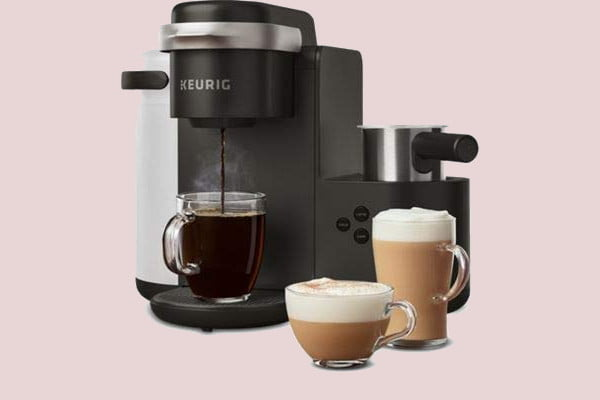 amazon slices prices on keurig k cup coffee makers for labor day cafe single serve maker  latte and cappuccino 1