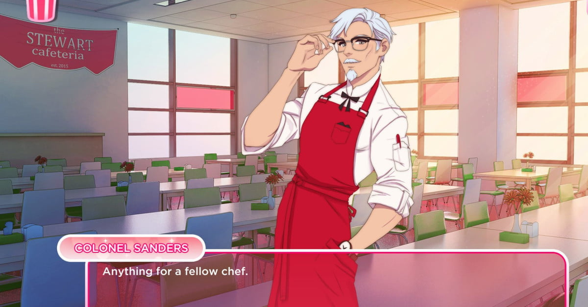 KFC's Colonel Sanders dating sim is real and coming out on Steam soon