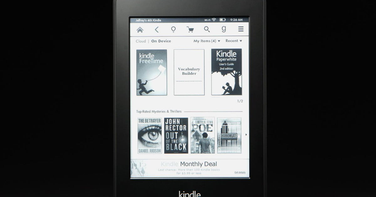 Kindle Paperwhite Review   2013   Digital Trends