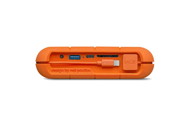 built on a fast ssd lacies computer free backup drive just got much better lacie rugged boss 1