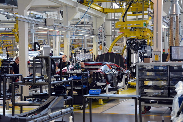 lamborghini factory tour pictures production process 0132