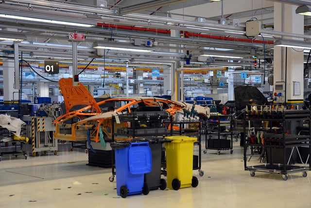 lamborghini factory tour pictures production process 0962