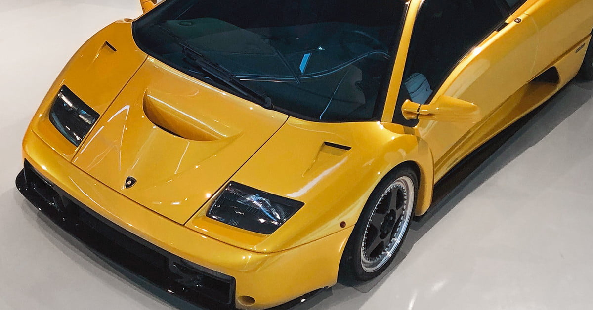 The Lamborghini Museum houses 55 Years of technical innovation