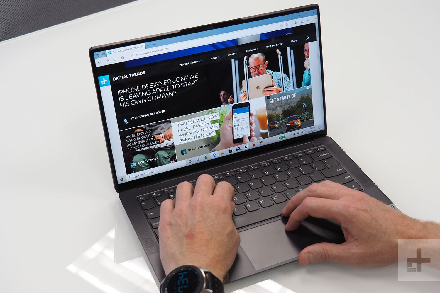 Lenovo IdeaPad S940 Review: Tiny Bezels and Lovely Display ...