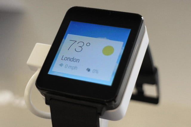 lg g watch news hands on weather