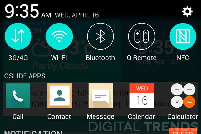 lg g3 homescreen screenshots leak exclusive settings macro
