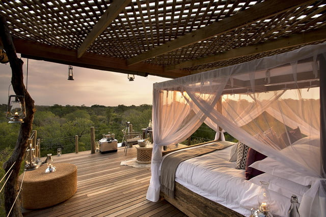 retreat from society and relax in these idyllic cabins around the world lion sands game reserve 6