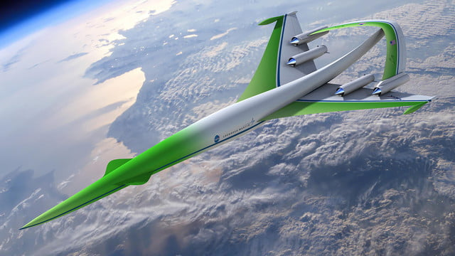 high speed concepts that could mark the return of supersonic travel lockheed martin n 2 jet 1