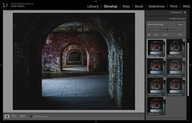 adobe lightroom acr camera profile overhaul lr classic screenshot