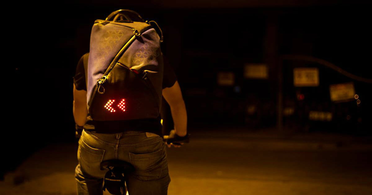 8df986cb3 The Lumos Aster Backpack Lights up the Night | Digital Trends