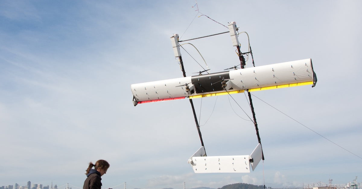 Alphabet Pulls Support for Energy-generating Kite Project | Digital Trends