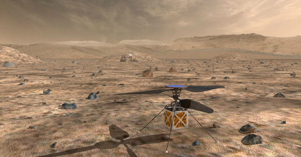 NASA Will Send a Tiny Drone Helicopter to Fly Through the