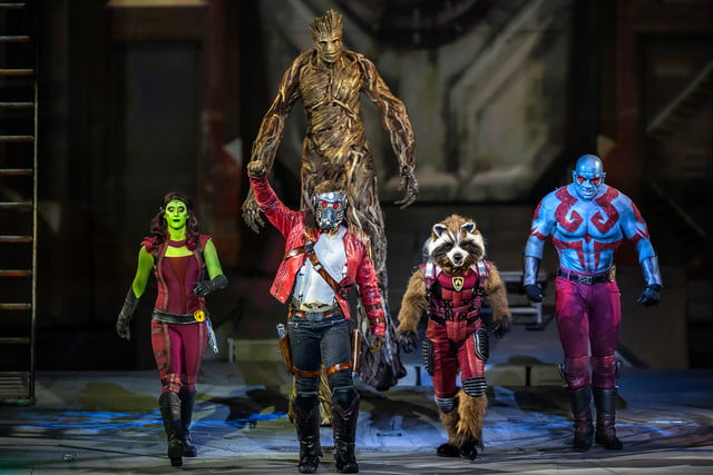 marvel universe live circus age of heroes on stage 10