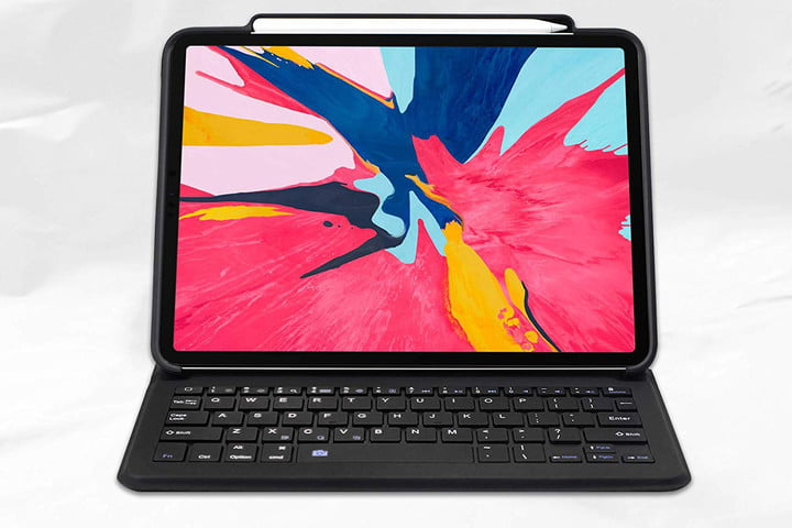 best keyboard cases ipad pro maxace 2018 pu leather tablet case