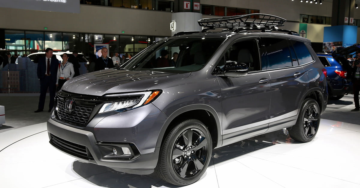 2019 Honda Passport Debuts at 2018 Los Angeles Auto Show ...