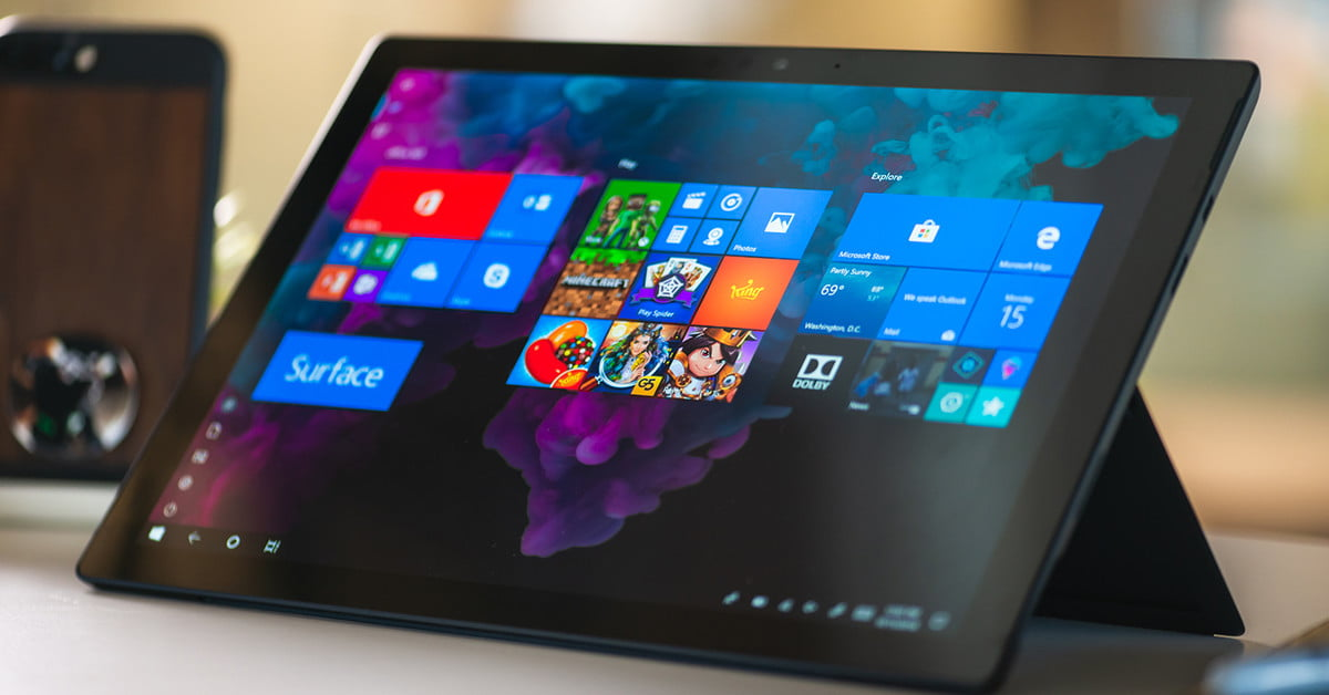 Don't bother with any other 2-in-1  The Surface Pro 6 is still the best