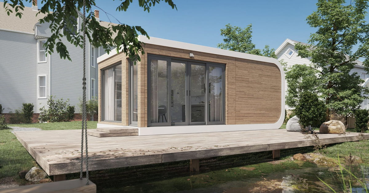 This startup says it will be 3D-printing entire houses within a year