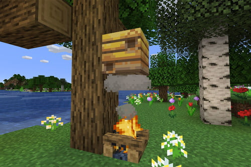 Minecraft Bees Guide: Spawn Locations, Hives, Honey