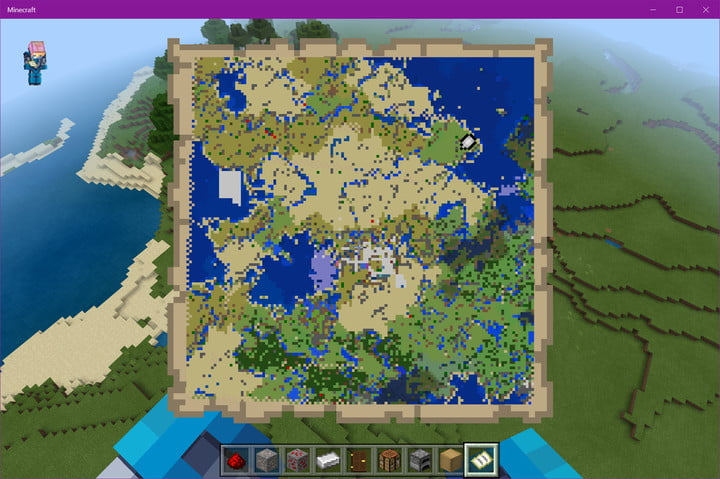 Minecraft Level 4 of 4 Map