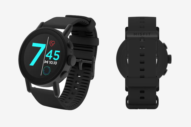 misfit vapor x smartwatch news black