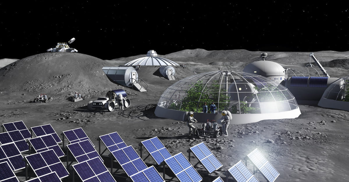 Scientists come up with a method to make oxygen from moon dust - Digital Trends
